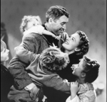 """It's a Wonderful Life"" (1946): There are at least two reasons why this Frank Capra classic with James Stewart and Donna Reed always pulls at the heartstrings: 1) It's centered around the holidays, a season known to bring on the tears; and 2) It answers that existential question, ""What would life be like if I weren't here?"" with a joy-filled family reunion. Hugs never looked so good."