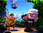 """Up"" (2009): Disney/Pixar should probably win an award for being able to make so many moviegoers bawl in their seats within the first 10 minutes of a movie, like they did with the adventurous animated story ""Up."""